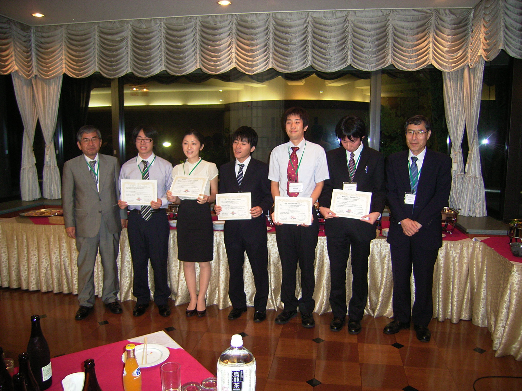 Poster Award Students in MSB8